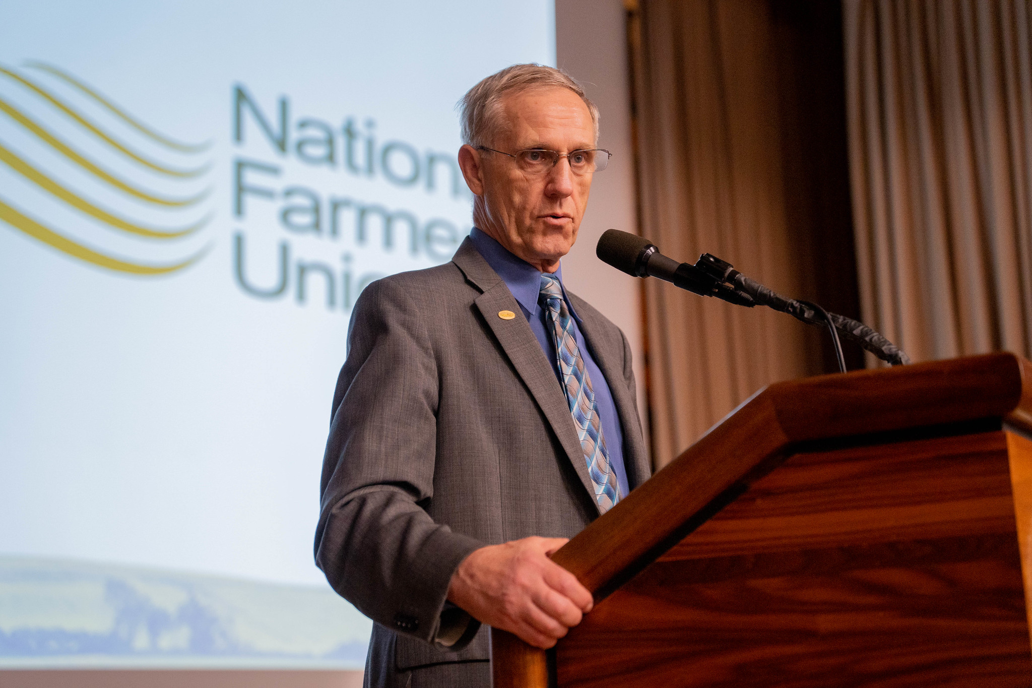 Johnson to Retire from Role as Farmers Union President